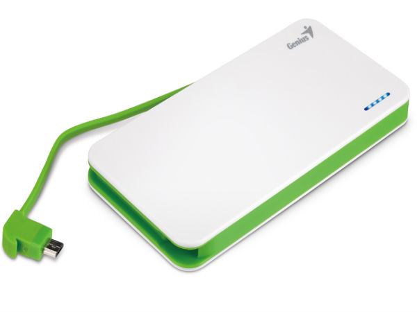 Genius Launches Ultra Thin Power Bank for Smartphones At Rs 2000