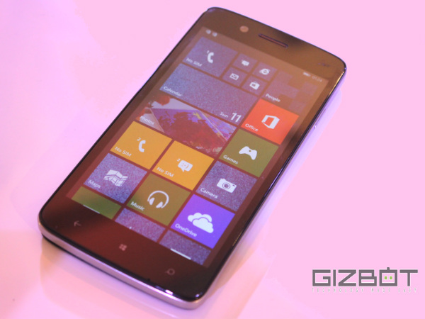 Micromax Canvas Win W121 First Look: India's Answer to Nokia Lumia 630