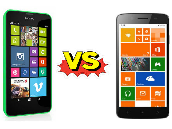 Micromax Win W121 Vs Nokia Lumia 630: Specs Comparison