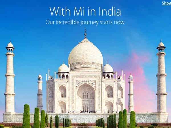 Xiaomi India Website Now Live, Full Launch Happening Soon