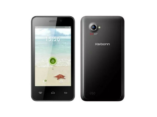 Karbonn A99i: 4-Inch Dual Core Smartphone Now Available Online