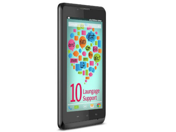 Lava Iris 402e With Support for 10 Indian Languages Coming Soon