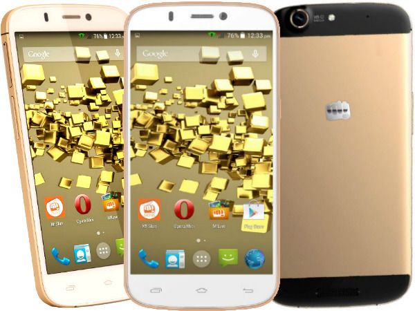 Micromax Canvas Gold: Buy At Price of Rs 14380