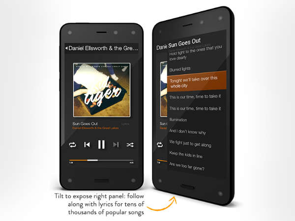 Amazon Fire Phone: Earbuds That Are 'Tangle-Free'