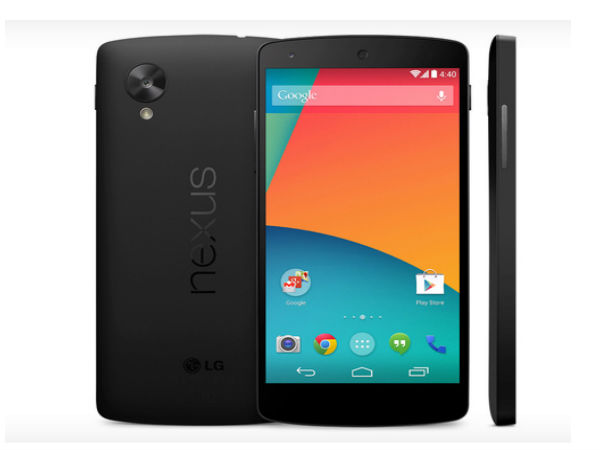 Android KitKat Smartphone with Best Battery: LG Nexus 5