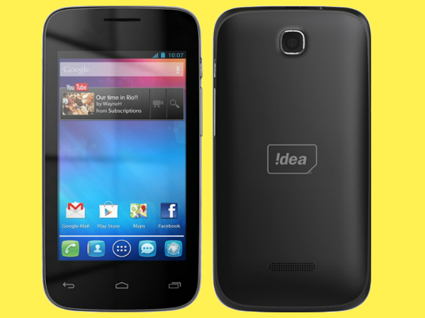 Idea ID 4000 3G Smartphone With 4-Inch Display, Dual-Core CPU Launched
