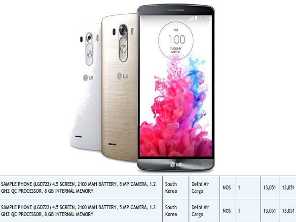 LG G3 mini Could Launch With 4.5-inch Display, 2100 mAh Battery