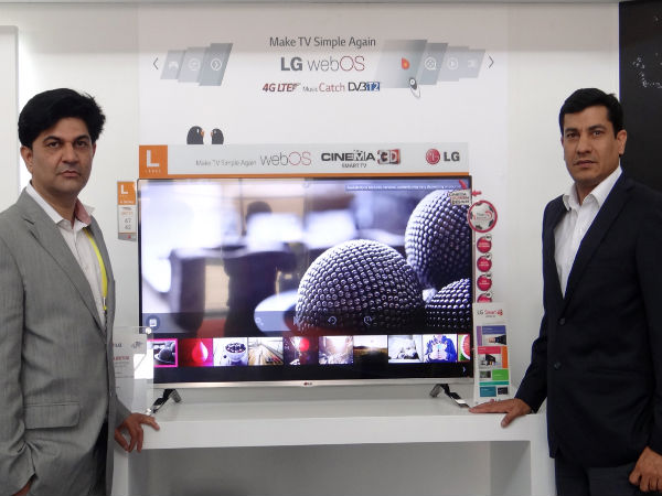 LG Announces WebOS Smart TV and UHD TVs in India