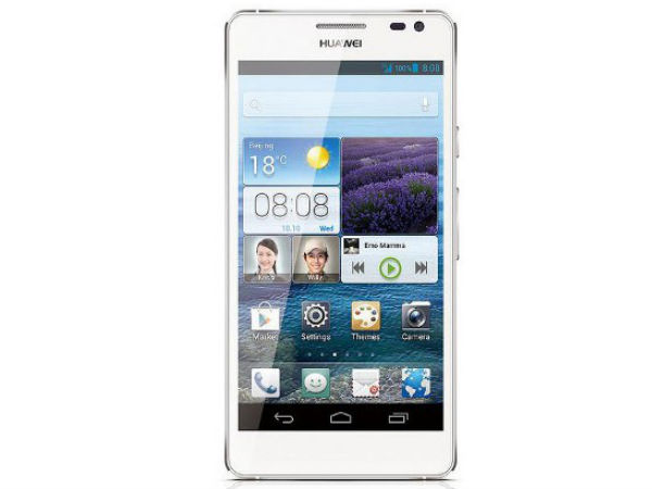 Huawei Ascend D2 With 4G LTE Support Coming to India Soon
