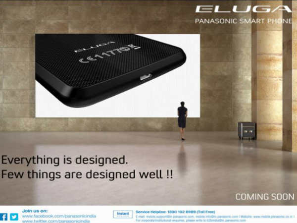 Panasonic Shows Off Upcoming Eluga Smartphone Via Yet Another Poster