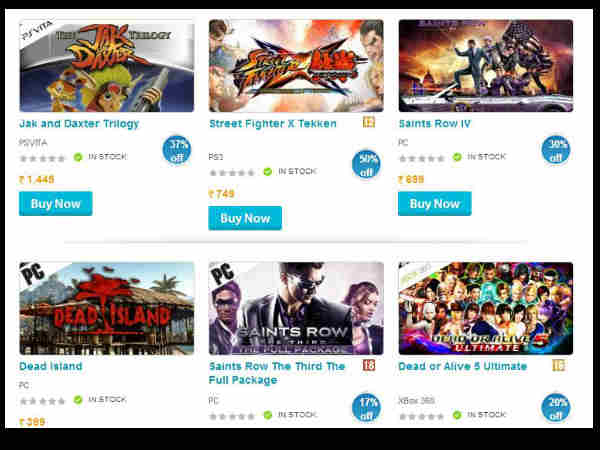 Game4u Kicks Off Monsoon Sale: Offering Upto 65 Percent Discount