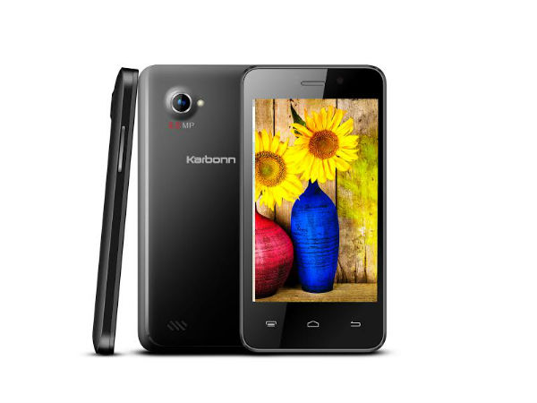 Karbonn Unveils Titanium S99 at Rs 5,990
