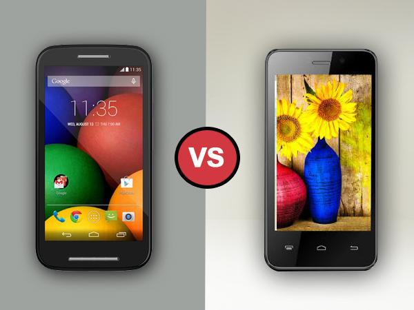 Karbonn Titanium S99 Vs Motorola Moto E: Specs Comparison