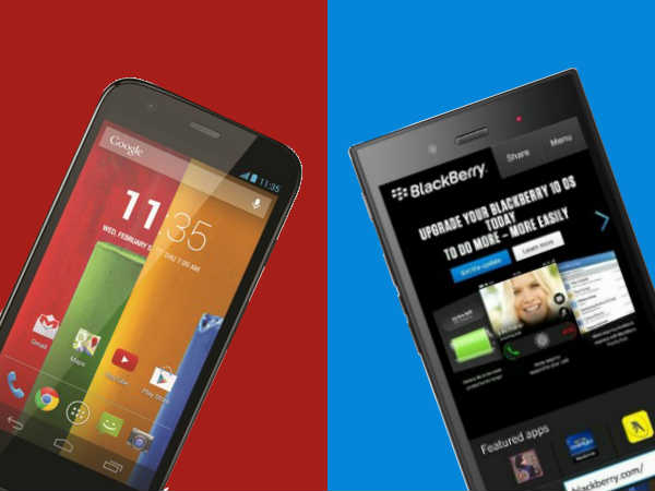 BlackBerry Z3 Vs Motorola Moto G: Verdict