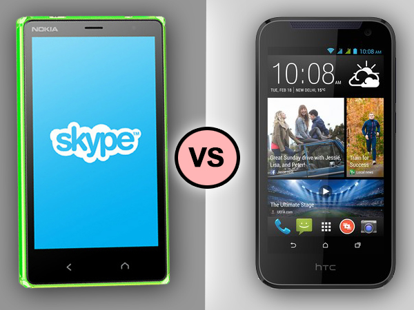 Nokia X2 Dual SIM VS HTC Desire 310: Specs Comparison