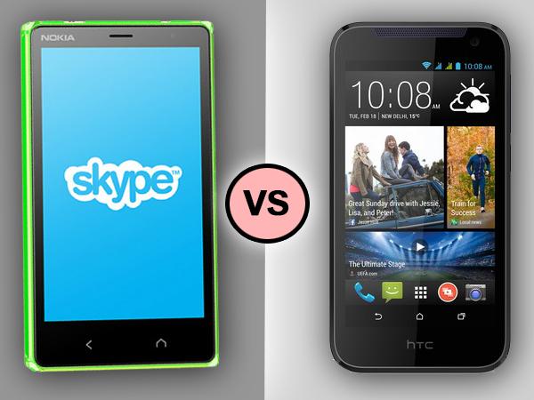Nokia X2 Dual SIM VS HTC Desire 310: Specs Comparison