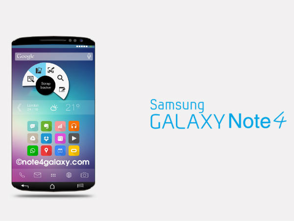 Samsung Galaxy Note 4 Could Sport 12MP OIS Camera