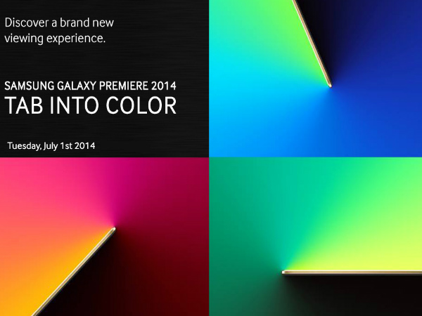 Samsung Galaxy Tab S 10.5 and Tab S 8.4 to Launch in India on July 1