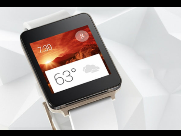 LG G Watch is Dust and Water Resistant