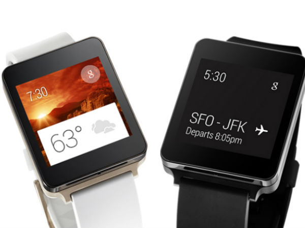 LG G Watch Runs Android Wear