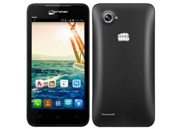 Micromax Canvas Duet AE90 Smartphone Now Available Online for Rs 8,999