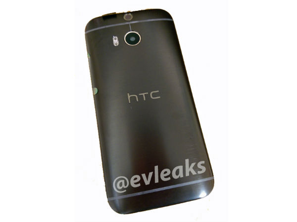 HTC One M8 In Black Metal Shell Leaks Online