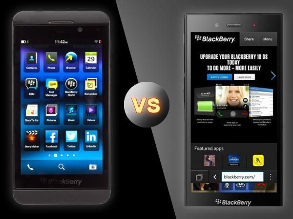 BlackBerry Z3 Vs BlackBerry Z10: Specs Comparison