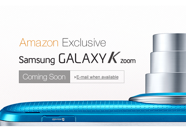 Samsung Galaxy K Zoom Coming Soon: To Be Exclusively Sold by Amazon