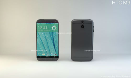 HTC One M9 Concept Phone Imagined With 5.2 Inch QHD Display