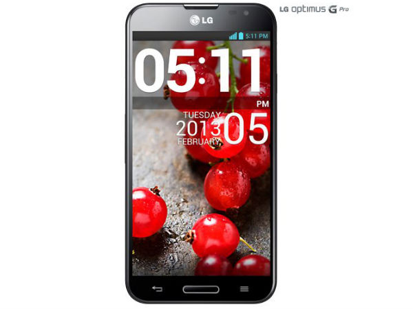 LG Optimus G Pro Smartphone Starts Receiving Android KitKat Update