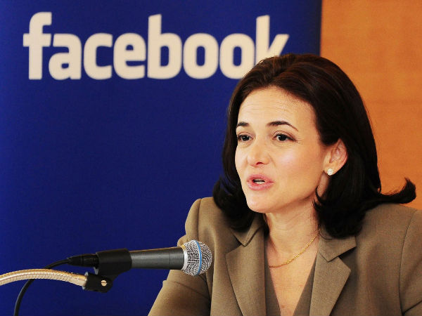 Facebook COO Sheryl Sandberg Visits India, Its 'Second Largest Market'