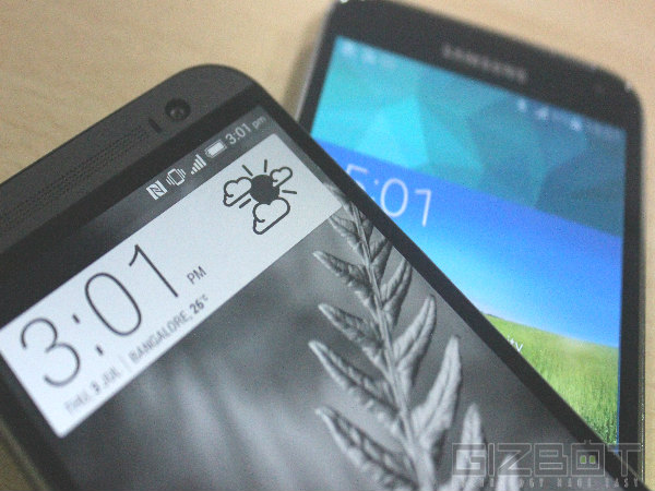 HTC One M8 Vs Samsung Galaxy S5 Comparison Review: We Pick a Winner