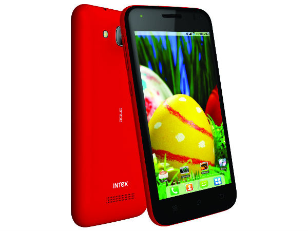 Intex Aqua Curve Mini: Another KitKat Smartphone Launched at Rs 7,290