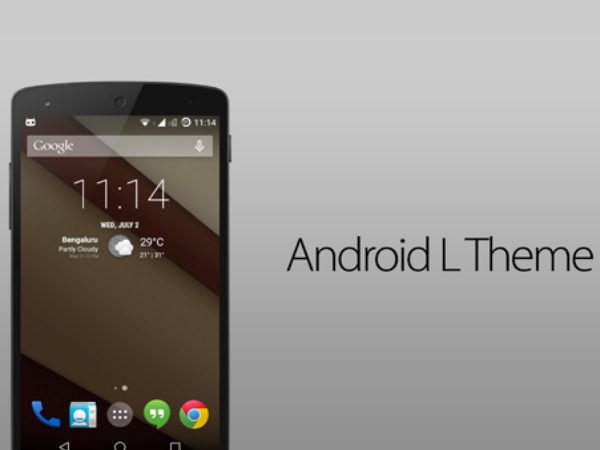 5 Simple Steps to Install Android L Theme On Your Smartphone [How To]