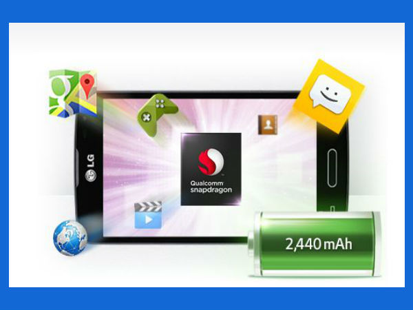 LG F70 Features: Powerful Processor