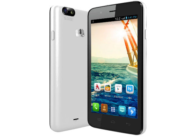 Micromax Bolt A069 With Android KitKat OS Now Up For Sale At Rs 5,301