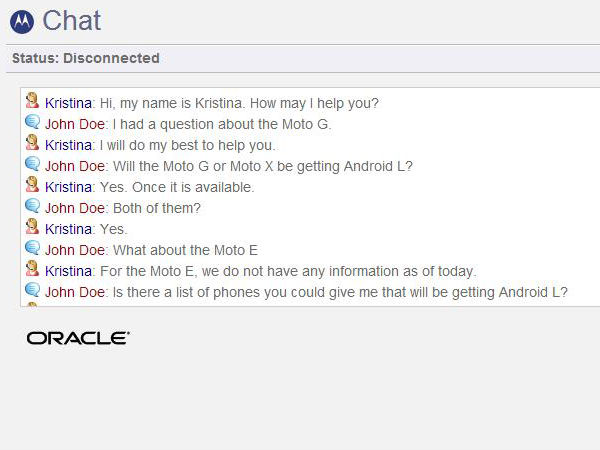 Motorola Moto X, Moto G To Get Android L Update
