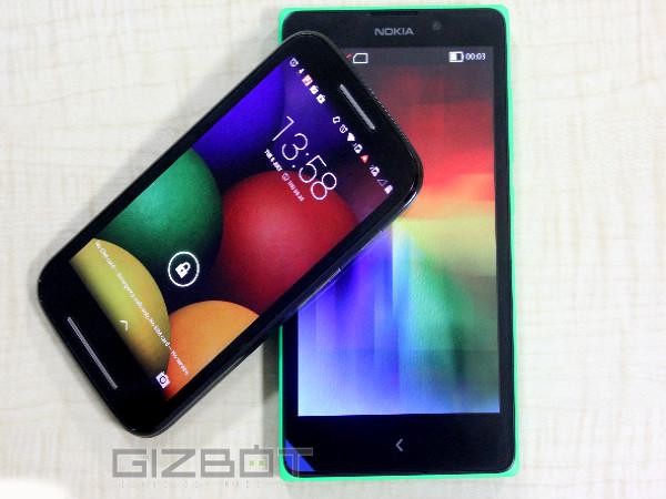 Motorola Moto E Vs Nokia XL Comparison Review: Let's Dig Deeper