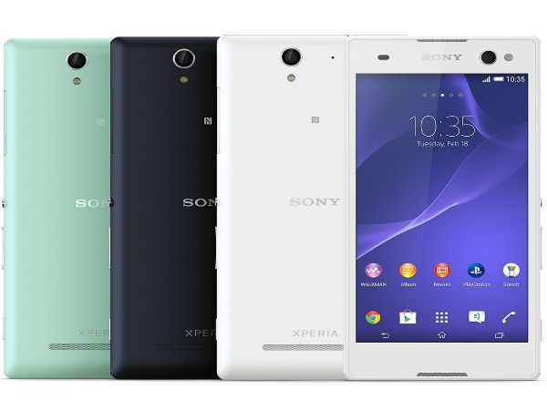 Sony Xperia C3: Selfie Phone with 5MP Front Camera Now Official