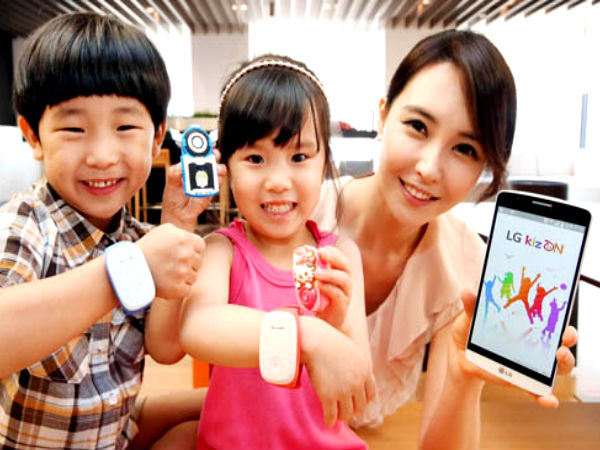 LG Launches KizON, A Wearable Device Designed For The Safety Of Kids