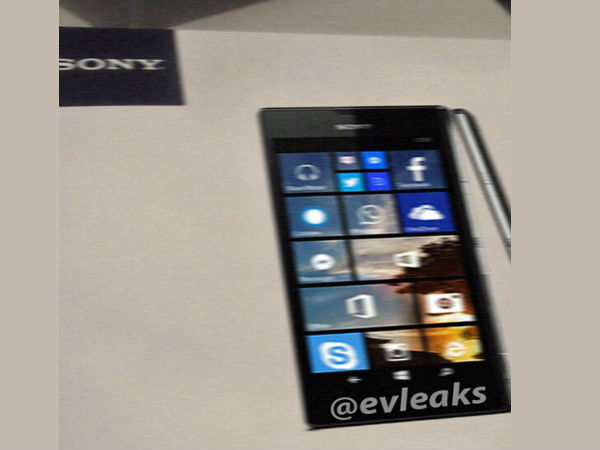 Sony Lue Z: Company's First Windows Phone Handset Leaks Online