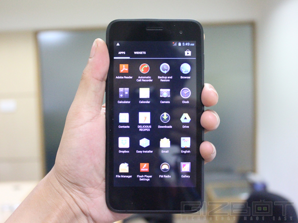 Swipe Konnect 5.0 Review: A Smartphone For the beginners