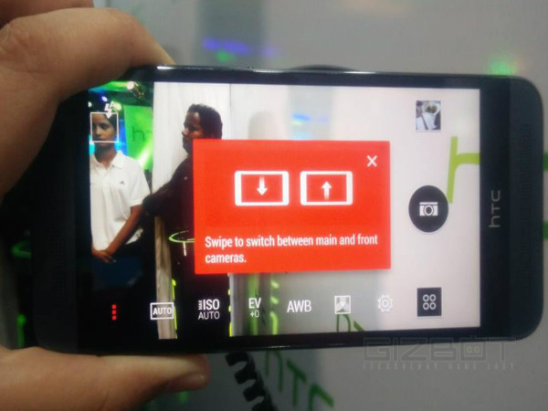 HTC One E8 Features: Selfie-oriented Camera