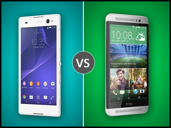 HTC One E8 Vs Sony Xperia C3: Specs Comparison