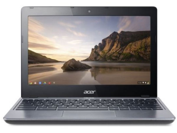 Acer C720 Chromebook With Intel Core i3 Processor Announced