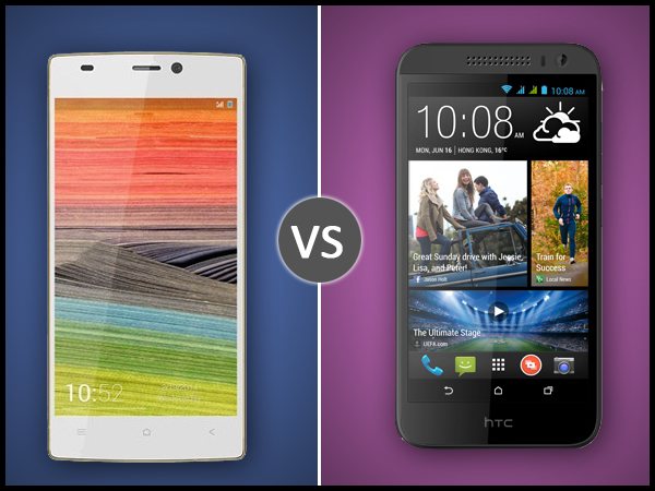HTC Desire 616 Vs Gionee Elife S5.5: Specs Comparison