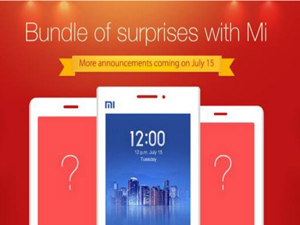 Xiaomi Might Launch Redmi Series in India on July 15?