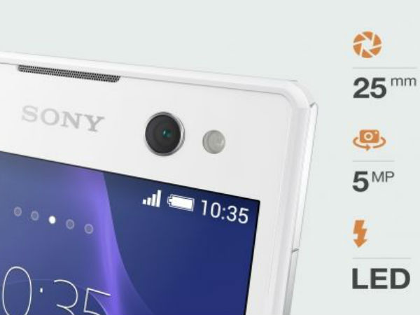 Sony Xperia C3 'Selfie' Smartphone Unveiled: Top 5 Features