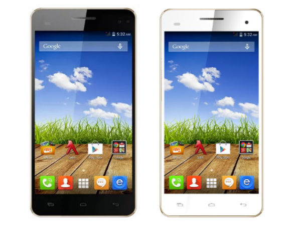 Hexa Core Phones: Micromax Canvas HD Plus A190