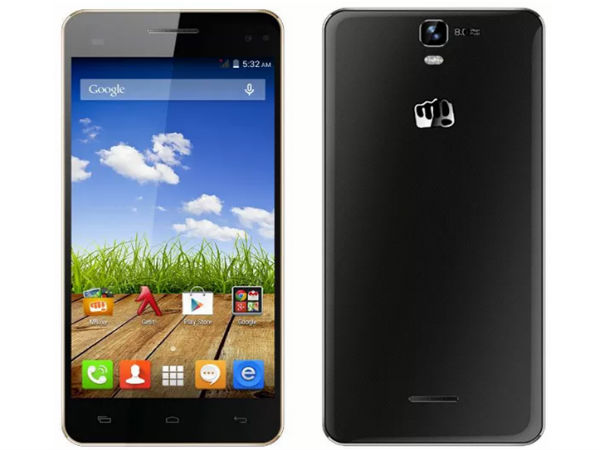 Micromax Canvas HD Plus Hexa Core Smartphone Available at Rs 13500